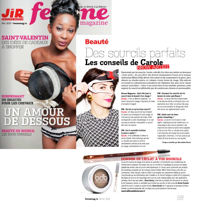 paru femme magazine - Février 2015